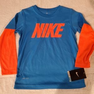 NWT Lot of four boy's Nike items size 4